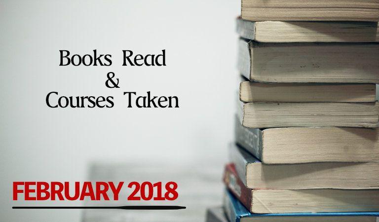 books read in February 2018