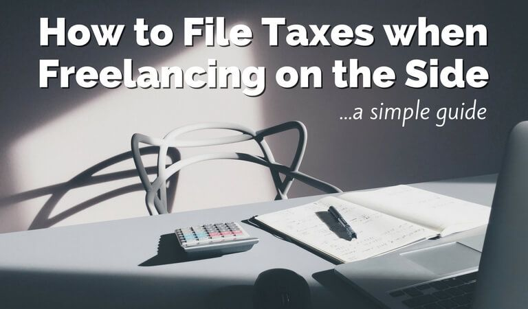 how to file taxes when freelancing on the side